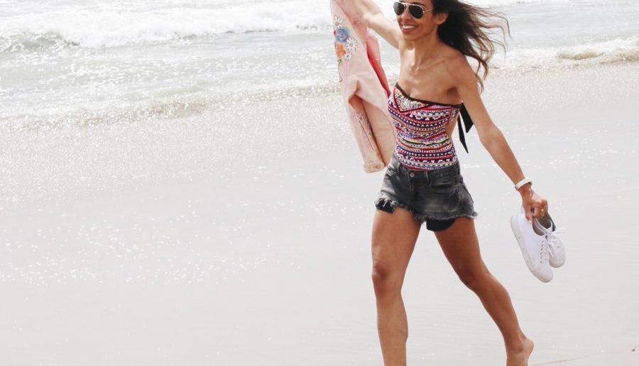 Santa Monica Beach Outfit