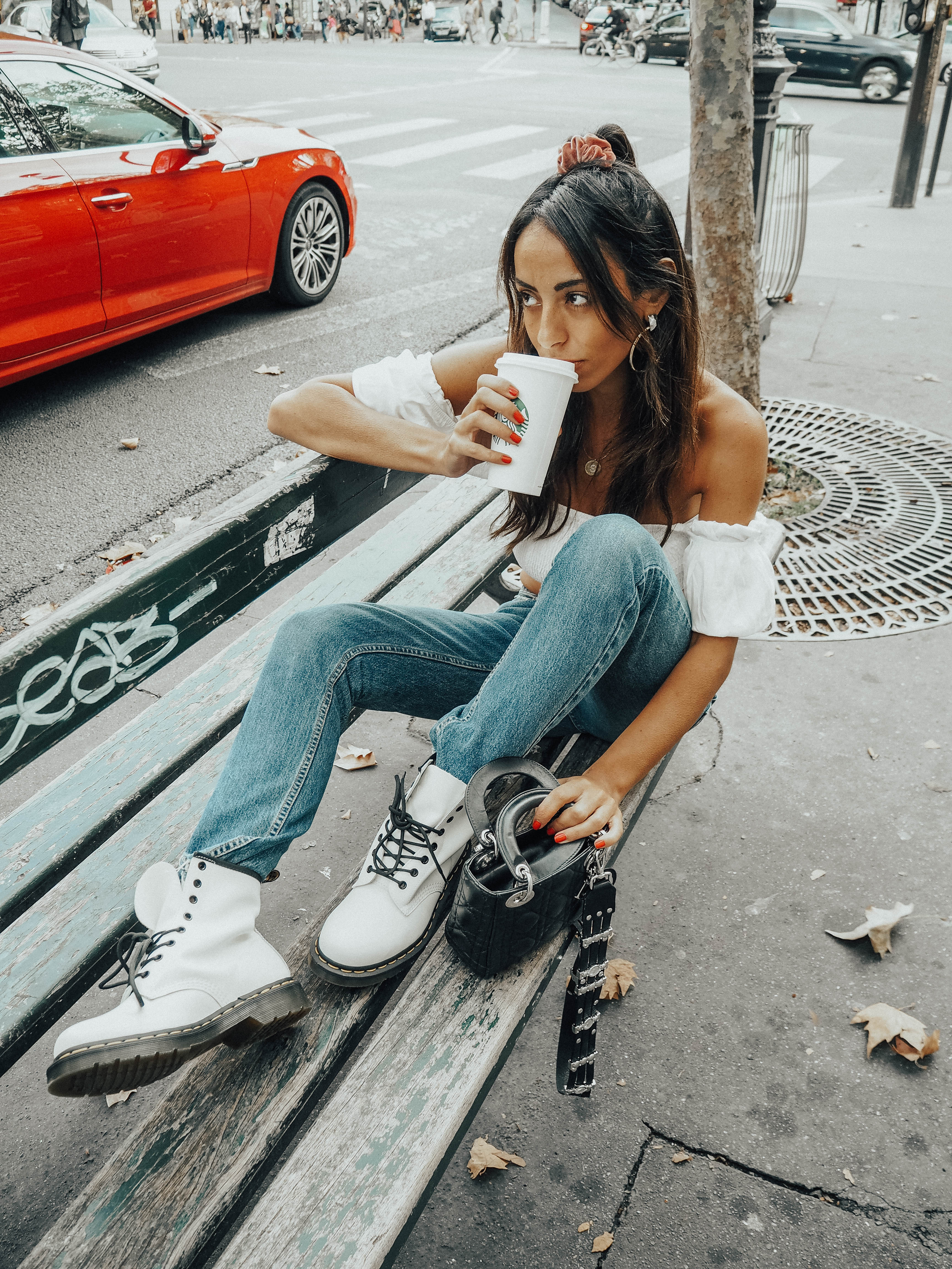 fantastic savings new authentic check out Le retour des Dr Martens Blanches – The Moody Road